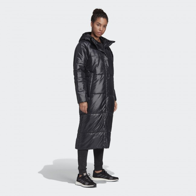 Женский пуховик-парка  adidas BIG BAFFLE W  (АРТИКУЛ:DZ1486)