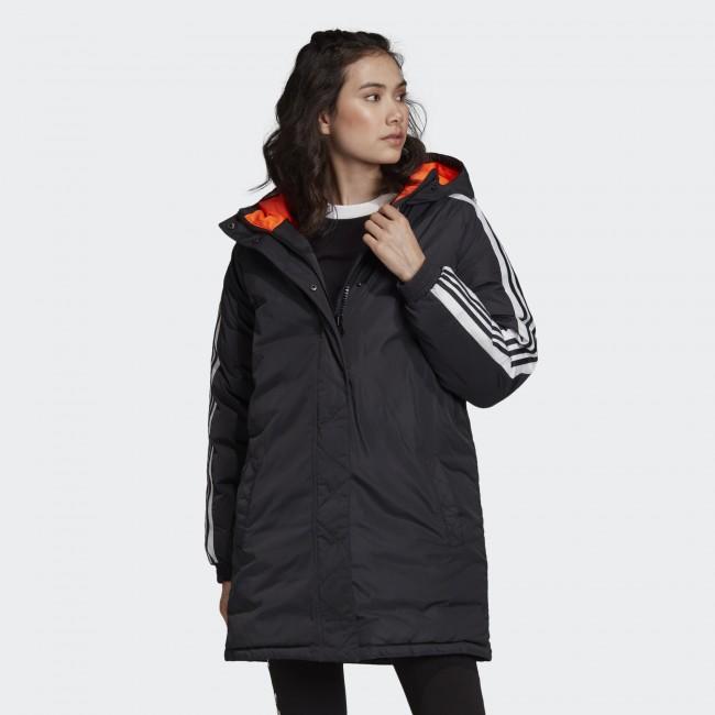 Женская утепленная куртка adidas LONG W (АРТИКУЛ:ED7585)