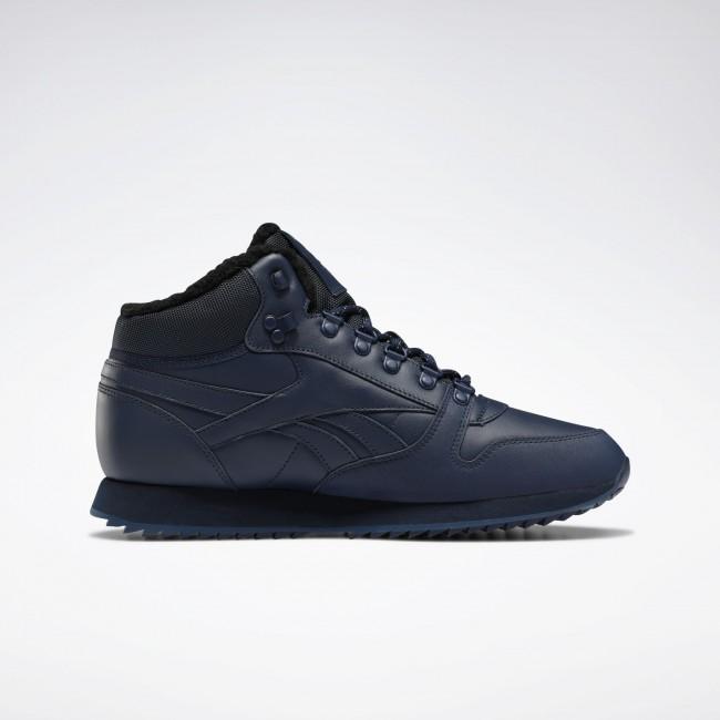 Мужские ботинки  Reebok CLASSIC LEATHER MID RIPPLE  (АРТИКУЛ:FU9130)