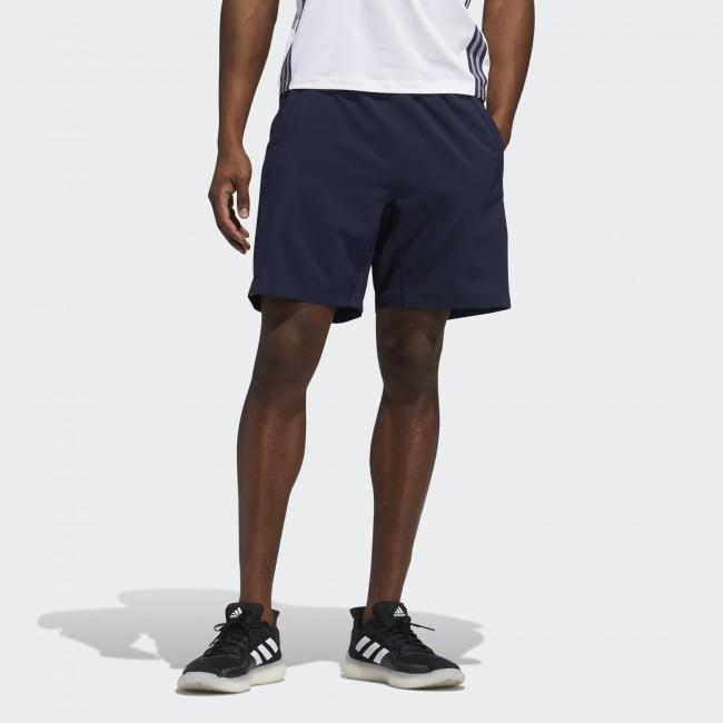 Мужские шорты adidas AEROREADY 3-STRIPES 8-INCH (АРТИКУЛ: FL4390)
