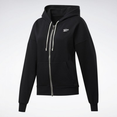 FU2225 reebok TRAINING ESSENTIALS FULL-ZIP