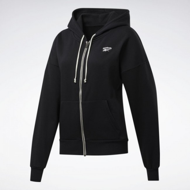 ХУДИ reebok TRAINING ESSENTIALS FULL-ZIP (АРТИКУЛ: FU2225)