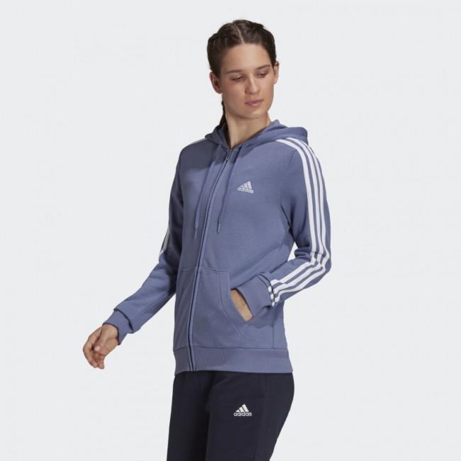 Женская толстовка adidas ESSENTIALS 3-STRIPES W (АРТИКУЛ: H07838)
