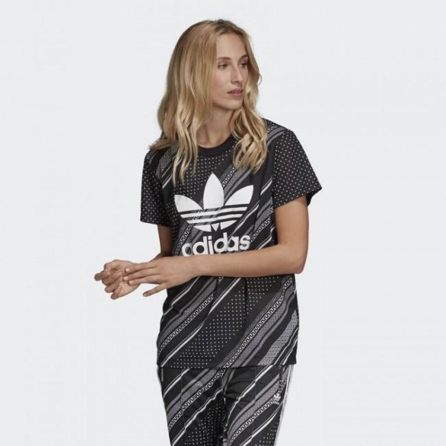 Женская футболка adidas BOYFRIEND TREFOIL (АРТИКУЛ: DV2614 )