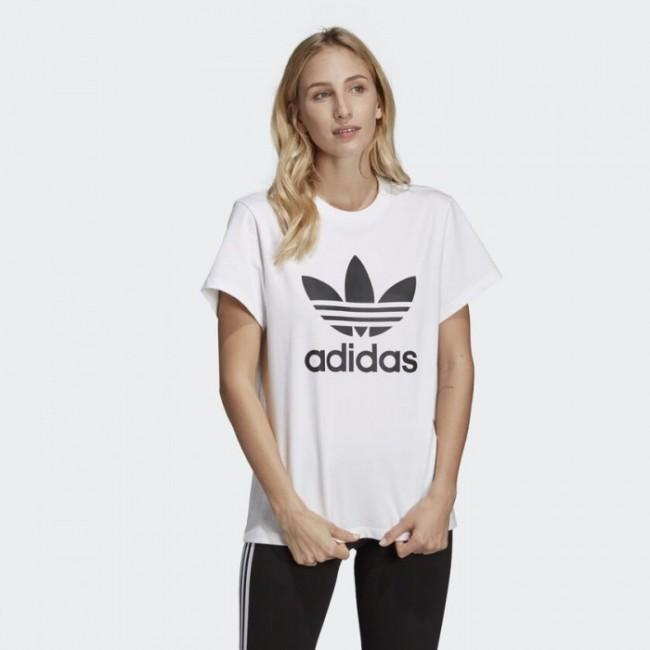 Женская футболка adidas BOYFRIEND TREFOIL (АРТИКУЛ: DX2322 )