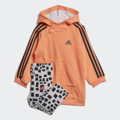 ED1154 adidas HOODED DRESS K