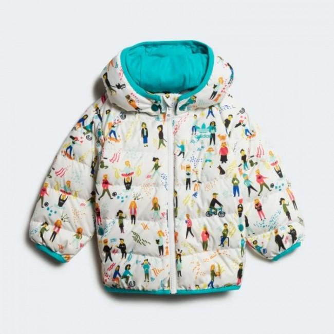 Дитяча утеплена куртка adidas COLORFUL K (АРТИКУЛ: ED7703)