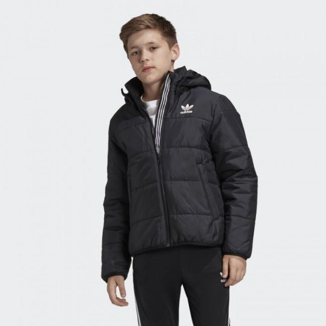 Утепленная куртка adidas TREFOIL K (АРТИКУЛ: ED7821)