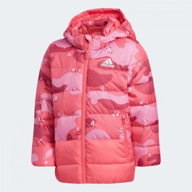 Утепленная куртка adidas ALLOVER PRINT K (АРТИКУЛ: EH4141)