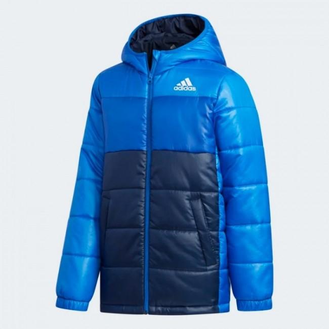 Утепленная куртка adidas COLORBLOCK PADDED K (АРТИКУЛ: FK5871)