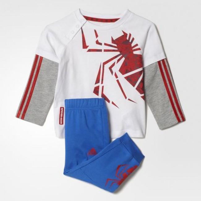AY6042 Детский костюм adidas MARVEL SPIDER-MAN  33e55497781b0